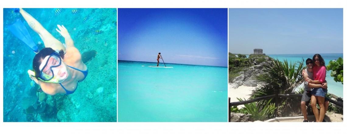 Uma semana em Cancun por Andréa Carvalho